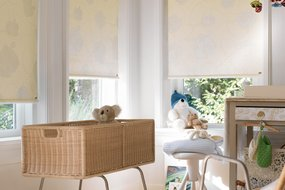 Luxaflex nursery blinds