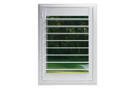 89mm louvre with Clearview® hidden rear tilt
