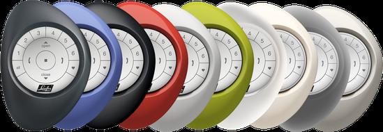 PowerView® Pebble® in 10 kleuren