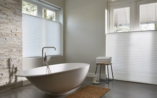 Duette Shades - bath rooms