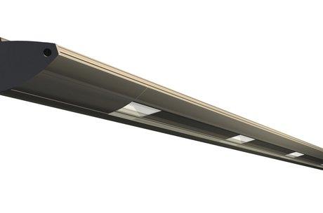 Terraszonwering Powerrailverlichting