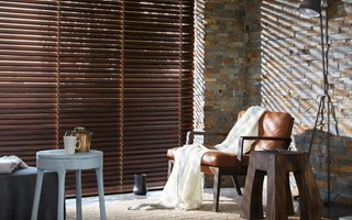 Wood Blinds - Made to measure style