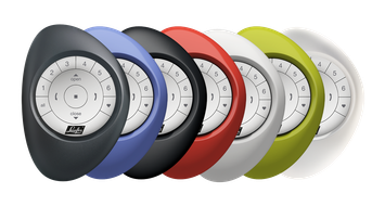 PowerView® Pebble® in zeven kleuren