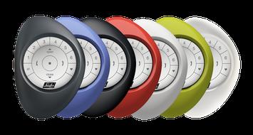 PowerView® Pebble® in 7 kleuren
