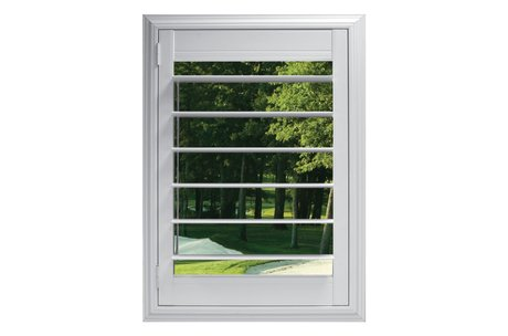 114mm louvre with Clearview® hidden rear tilt