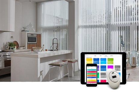 Vertical Blinds with PowerView® Motorisation